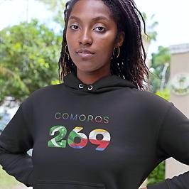 Comoros 269 Women's Pullover Hoodie