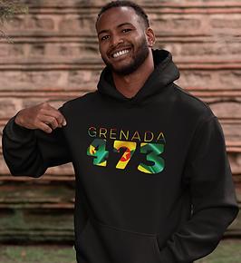 Grenada 473 Mens Pullover Hoodie
