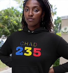 Chad 235 Womens Pullover Hoodie