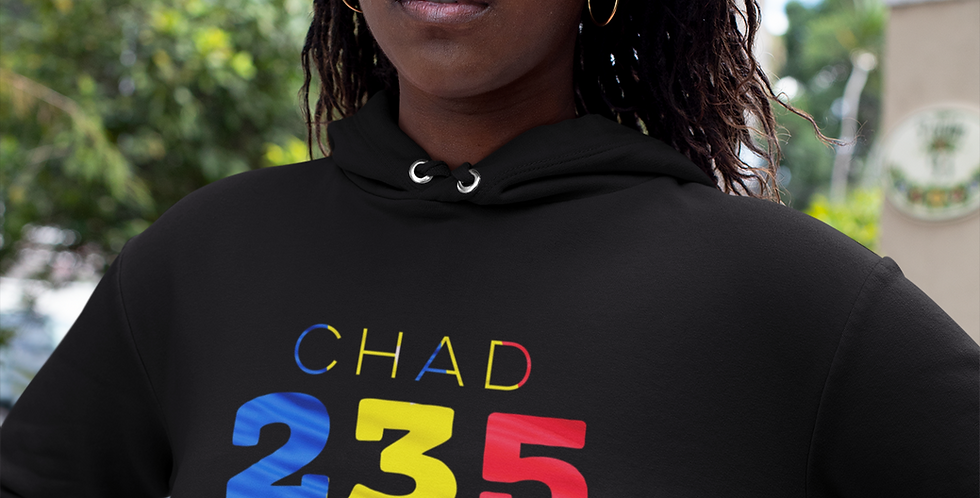 Chad Womens Pullover Hoodie