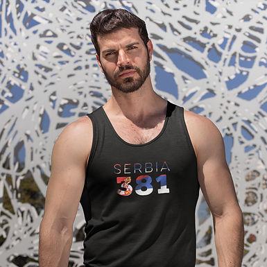 Serbia 381 Mens Tank Top