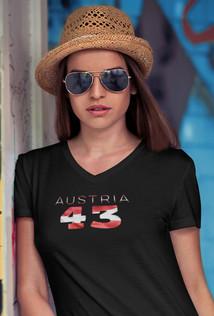 Austria 43 Womens T-Shirt