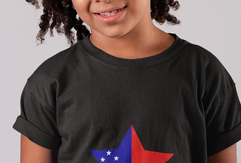 Childrens Samoa Black T-Shirt