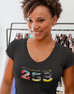 Mozambique 258 Womens T-Shirt