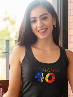 Romania 40 Womens Vest