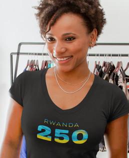 Rwanda 250 Women's T-Shirt