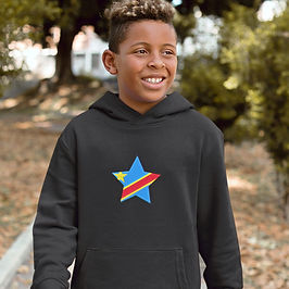 Democratic Republic of Congo Childrens Hoodie