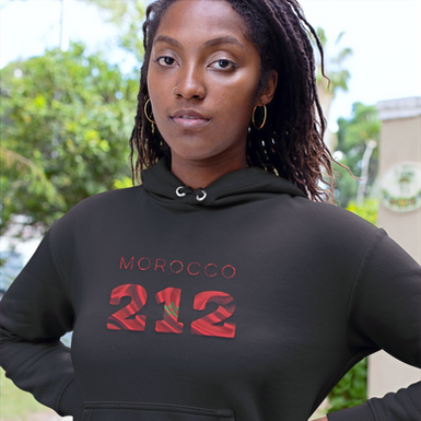 Morocco 212 Women's Pullover Hoodie