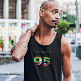 Myanmar 95 Mens Tank Top