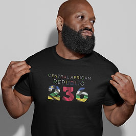 Central African Republic 236 Mens T-Shirt