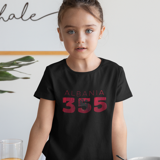 Albania Childrens T-Shirt