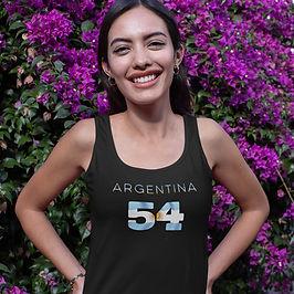 Argentina 54 Womens Vest