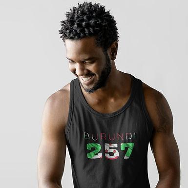 Burundi 257 Mens Tank Top