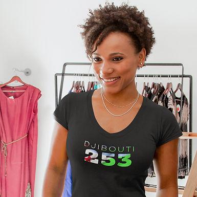 Djibouti 253 Women's T-Shirt