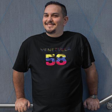 Venezuela 58 Mens T-Shirt