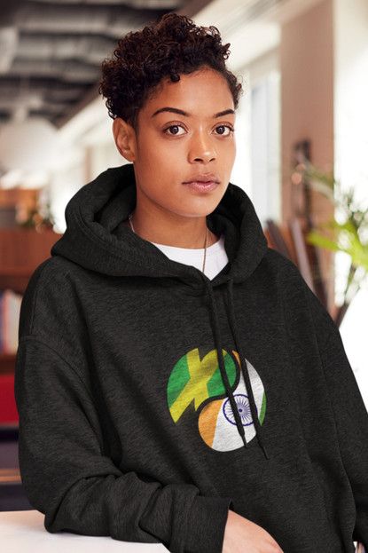 Jamaica and India Womens Hoodie