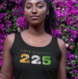 Côte d'Ivoire 225 Womens Vest