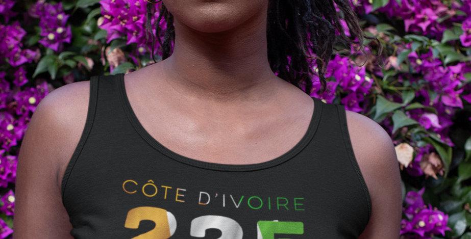 Cote d'Ivoire Womens Vest
