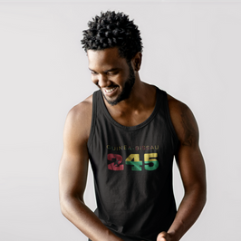 Guinea-Bissau 245 Mens Tank Top
