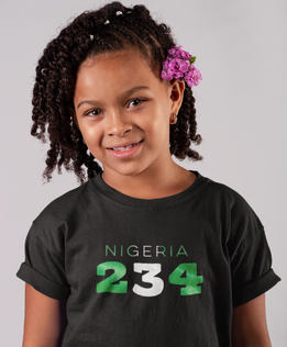 Nigeria 234 Childrens T-Shirt