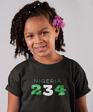 Nigeria Childrens T-Shirt