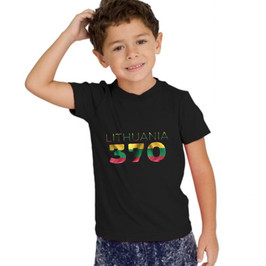 Lithuania 370 Childrens T-Shirt