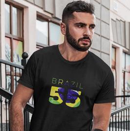 Brazil 55 Mens T-Shirt