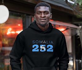 Somalia 252 Mens Pullover Hoodie
