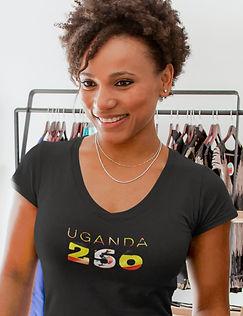 Uganda 256 Womens T-Shirt