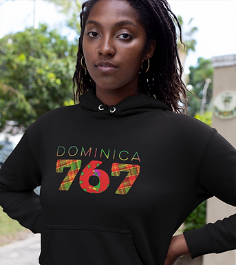 Dominica 767 Womens Pullover Hoodie