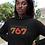 Dominica Womens Black Hoodie