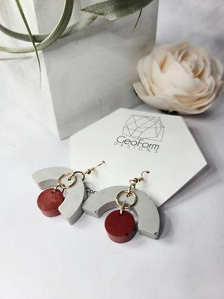 [ The Ruby Earrings ]