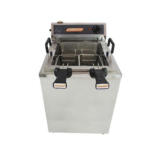 Fritadeira Elétrica Água e óleo Turbo 18 Litros