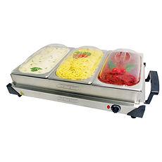 Bandeja Termica, Servidor de buffet, Bandeja Elétrica, Cotherm, Bandeja Térmica com cubas, bandeja de aquecimento