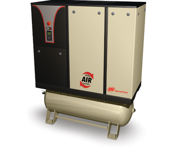 Compressores parafuso rotativo lubrificados VSD Nirvana