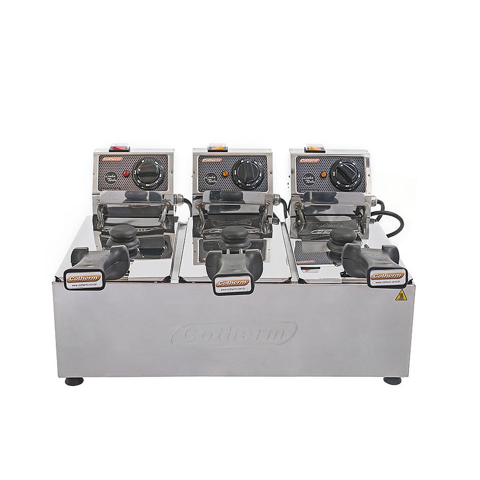 3-Fritadeira-Elétrica-3-Cuba-linha-turbo