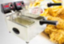 Fritadeira Elétrica, Tacho Elétrico, Fritadeira Dupla, Fritadeira para bar, Frita Fácil, Fritadeira 5 litros, Fritadeira de 3 litros, Fritadira água e óleo, Cotherm