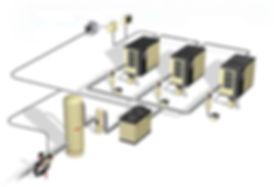 Air King - Engenharia de Aplicação para unidade  compressora, sistema de ar comprimido
