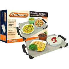 Bandeja Térmica, Cotherm, mantem o alimento quente, Réchaud Elétrico, servidor de buffet