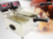 Fritadeiras elétricas, fritadeiras Cotherm, Fritadeira profissional