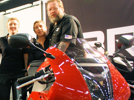 EBR Motorcycles Announces Parts and Support for Europe