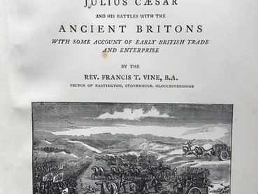 Caesar in Kent by Francis T Vine