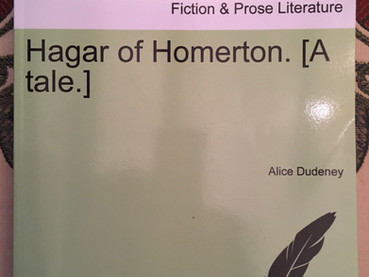 Hagar of Homerton by Alice Dudeney