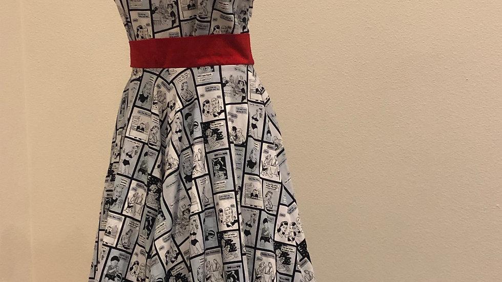 Classic Comic Book Dress
