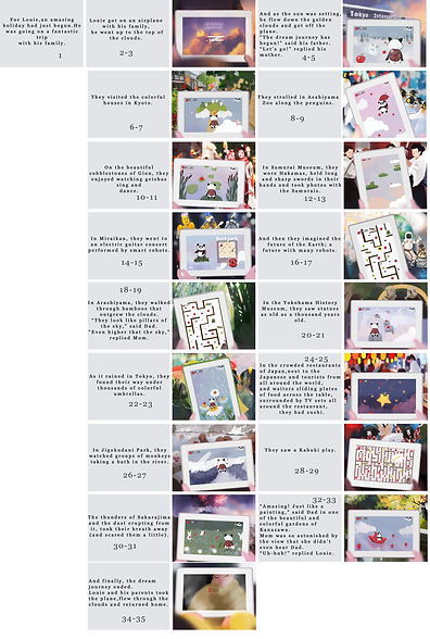 StoryBoard - Dream Journey to Japan