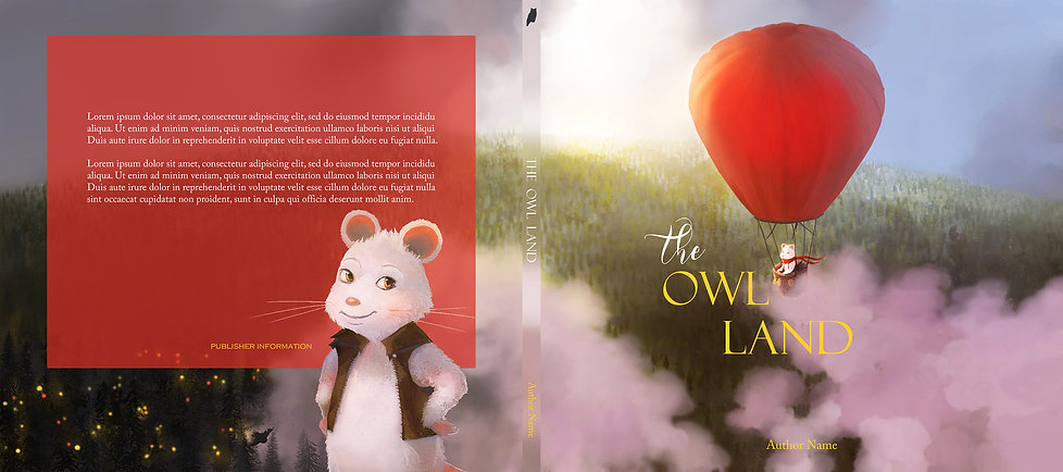The Owl Land - book cover concept