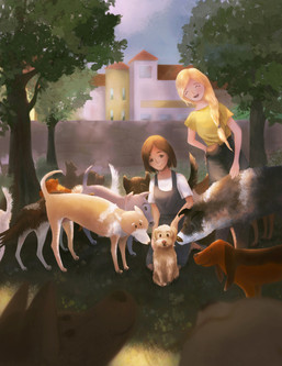 Gatuhund Lilo - full page image