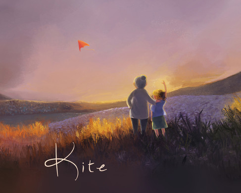Kite - concept art for a book