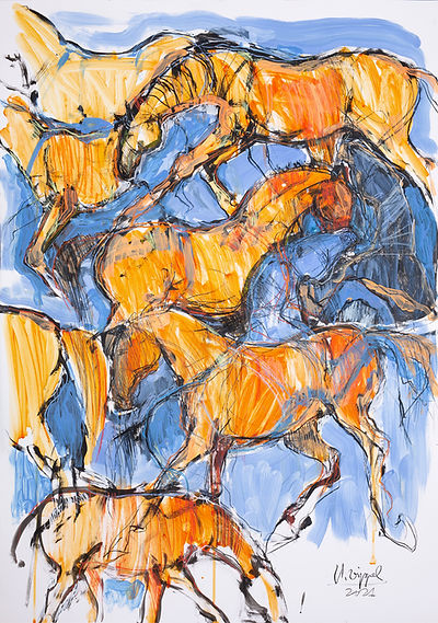 orange-horses - kasia dippel..jpg