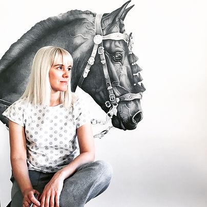 Victoria portrait with horse.JPG